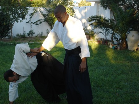 aikido à nabeul avec farouk benouali
