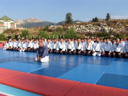 Stage aikido a ululdag Bursa 2008 et 2009 ,Ankara & afyon