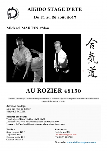 aikido,luc bouchareu,cap serrat,mickael martin,kobarid,brahim siguesmi,le rozier